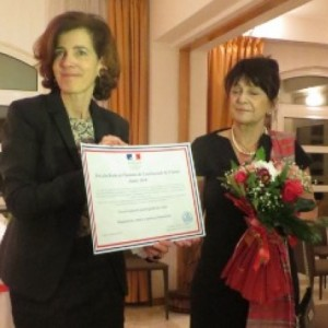 NCGE received the Human Rights Award from the French Embassy in Macedonia