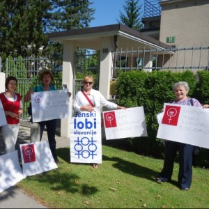 Podpora in solidarnost s poljskimi aktivistkami