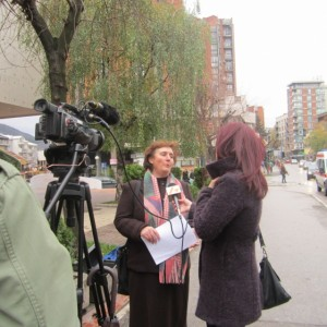 Women Center Užice organized the street action for collecting signatures and distribution of leaflets