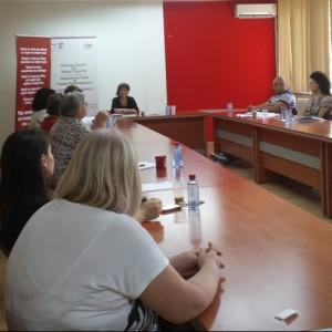 Дискусија за потребата од побрза ратификација на Конвенцијата за борба против родово засновано насилство
