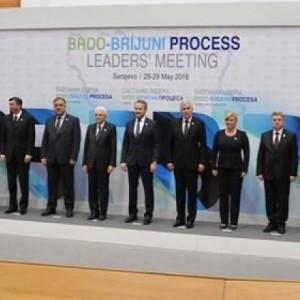 Лидерите во процесот Брдо Бриони - регионална соработка против насилството врз жените