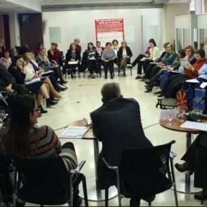 Заштита и поддршка на жените жртви на родово базирано насилство – моментални состојби и добри пракси