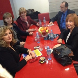 Meeting with the Commission for Gender Equality in Sarajevo, Bosnia and Herzegovina