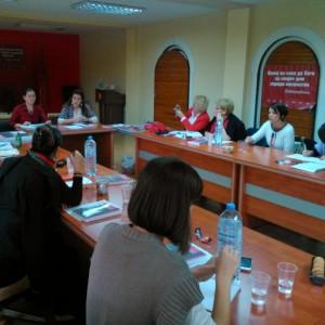 Состанок на Националната мрежа против насилство врз жените и семејно насилство