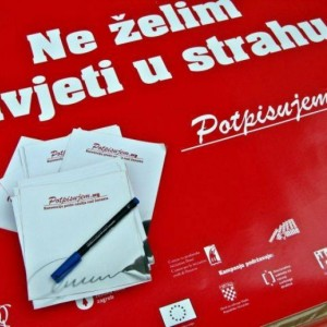 I Sign - Public action to collect signatures in Split
