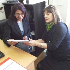 Средби во Министерство за труд и социјална политика и Меѓуопштински центар за социјална работа