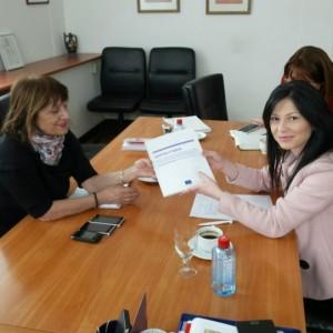 Средба во Комисија за европски прашања