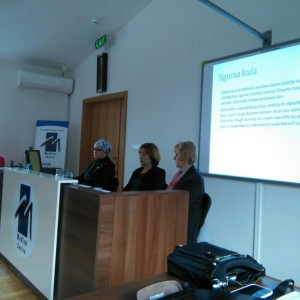Financing and establishment of safe houses in Federation of BiH