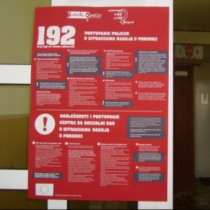 Women Center informs the citizens of Zlatibor District about procedures of CSW and police