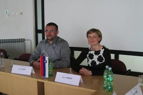 Špela Veselič, Društvo SOS telefon in Alojz Sladič, Generalna policijska uprava