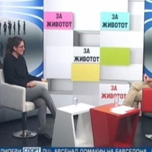 Разговор за семејно и интимно партнерско насилство на телевизија 24Вести